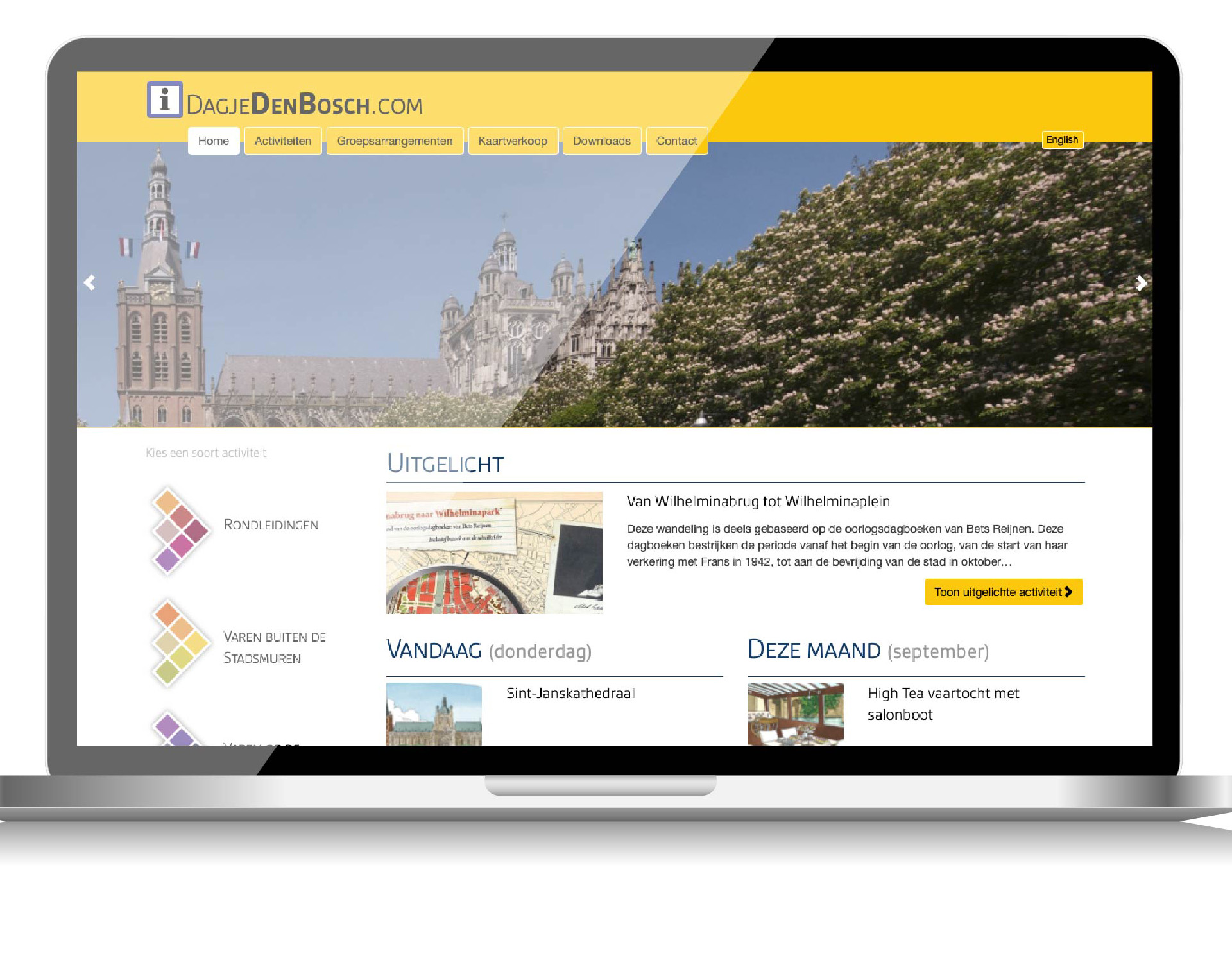 Website DagjeDenBosch