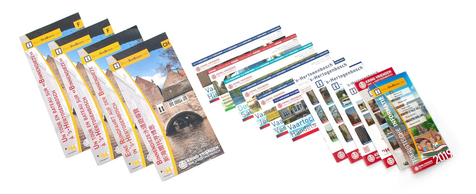 Brochures Kring Vrienden Van 's-Hertogenbosch